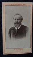 Ancienne Photo Du Musicien Edouard COLONNE. Ancienne Photo De Chocolat SADLA - Célébrités