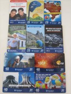10 Different Phonecard,one Or Two Cards With Scratch - Brésil