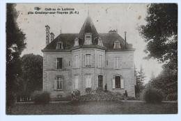 87b43CpaChâteau De LARIVIERE Près Oradour Sur Vayres 1940 - Oradour Sur Vayres