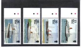 GUT682  Großbritanien ISLE Of MAN 1993  Michl 560/63  ** Feinst Postfrisch - Man (Insel)