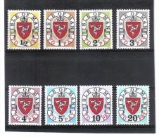 GUT673  Großbritanien ISLE Of MAN PORTO 1973  Michl !/8 I  ** Feinst Postfrisch - Man (Insel)
