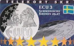 Denmark, P 205, Ecu - Sweden, Mint, Only 800 Issued, 2 Scans.  Please Read - Denmark