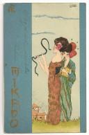 "S904 - Série Mikado N°4  - Raphaël Kirchner "" Art Nouveau"" - Kirchner, Raphael"