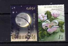 Finlande Y&t N°1702.1711....obli Térés - Gebraucht
