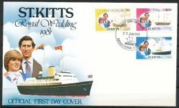 St. Christopher St. Kitts  - Mi.Nr.     66 - 71  -  Gestempelt - St.Kitts Und Nevis ( 1983-...)