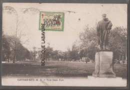 ETATS UNIS--KANSAS--KANSAS CITY--THE IRON COP - Kansas City – Kansas