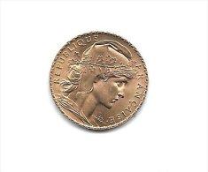 20 Francs OR - R�publique Fran�aise  - Ann�e 1912 - Etat SUP +