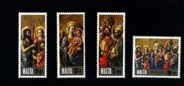 MALTA - 1976  CHRISTMAS  SET  MINT NH - Malta