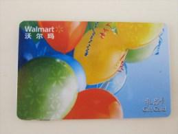 China Wal-Mart Gift Card - Tarjetas De Regalo
