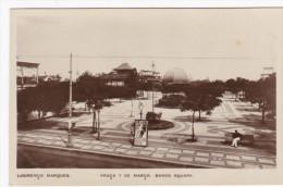 RP, LOURENCO MARQUES, Mozambique, 20-40s; Praca 7 De Marco, Band´s Square - Mozambique