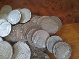 LOT 59 BELLES PIECES --- 33 PIECES 10 FRANCS TURIN ARGENT + 21 PIECES 20 FRANCS TURIN ARGENT