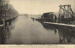 CPA PARIS 7e (Dep.75) - Inondation De La Tranchée De La Ligne... (64748) - Unclassified