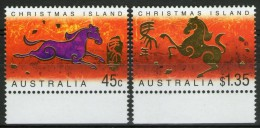 CHRISTMAS: N°487/488 ** BdF    - Cote 5,50€ - - Christmas Island