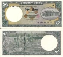 Bangladesh P40a, 20 Taka, Mosque / Washing Jute - $3+CV - Bangladesh