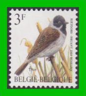 BUZIN - 2425** Bruant Des Roseaux / Rietgors - FLUOR (groene Gom Verdâtre) - 1985-.. Birds (Buzin)