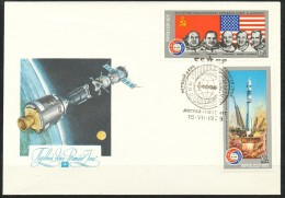 Sowjetunion -  FDC  -  Mi.Nr:   4371+4374   -  Gestempelt - 1923-1991 UdSSR