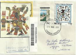 Codices Indigenas Mexicanos. Aigle Sur Cactus, Sur Lettre Recommandée - Cactus