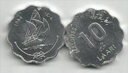 Maldives 10 Laari  1984. - Maldive