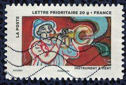 France 2013 Oblitéré Used Instrument à Vent Y&T 897 - France