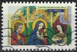 FRANCE 2013 Oblitéré Used Stamp Art Gothique Miroir De Louis D´Anjou Y&T 882 - France