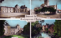 - CPSM -  Petit Format - 79 - Souvenir De COULONGES-SUR-L'AUTIZE - 455 - Coulonges-sur-l'Autize