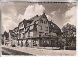 ALLEMAGNE - FREUDENSTADT Im Schawarzwald : HOTEL WALDECK - - CARTE PHOTO CPSM Dentelée Noir Blanc GF RARE (0 Sur Le Site - Freudenstadt