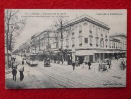 NICE AVENUE DE LA GARE CAFE HOTEL RESTAURANT DE LA REGENCE