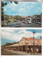 ETATS UNIS - NEW MEXCI ( NM ) ALBUQUERQUE : Old Town Plaza : Lot Of 2 Postcards CPSM Colorisée PF - - Albuquerque