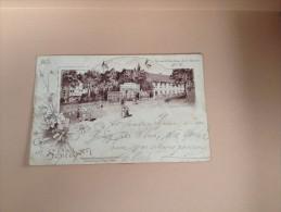 Ansichtskarte Postkarte AK Wirtshaus Gasthaus Schildhorn In Berlin 1897 - Wilmersdorf