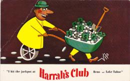 Nevada Reno Harrah's Club I Hit The Jackpot