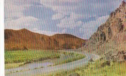 Nevada Highway Through A Nevada Canyon