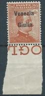 1918-19 VENEZIA GIULIA EFFIGIE 20 CENT LUSSO MNH ** - ED736-2 - Occupation 1ère Guerre Mondiale