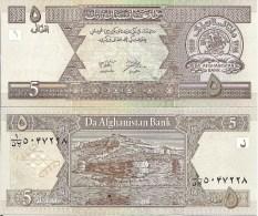 Afghanistan P66, 5 Afghani, Coin, Cornucopia / Bala Hissar (High Fortress) Look At UV Image - Afghanistan