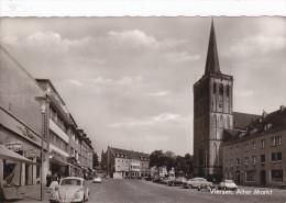 VIERSEN (Allemagne) - Vieux Marché / Alter Markt (Automobiles Dont  Volkswagen) - Viersen