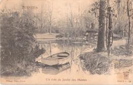 44 RARE NANTES UN COIN DU JARDIN DES PLANTES / BARQUE - Nantes