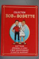 BD BOB ET BOBETTE - Intégrale 1987  - T71, 72, 73, 74 - TBE - Suske En Wiske