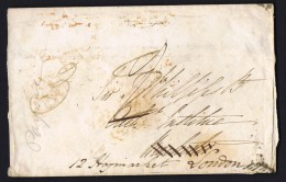 1845  Envelope  Winchester To London Redirected - ...-1840 Precursores