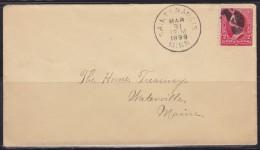 5633. USA, 1899, Letter - 1847-99 Emissions Générales