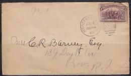 5634. USA, 1893, Letter - 1847-99 Emissions Générales