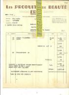 33 - Gironde - VILLANDRAUT - Facture ERDE - Produits De Beauté - 1946 - REF 72 - 1900 – 1949