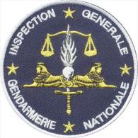 Inspection Générale De La Gendarmerie Nationale - Blanc - Police & Gendarmerie
