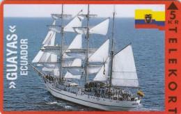 Denmark, KP 048, Guayas, Ecuador, Sailing Ship, Mint, Only 3500 Issued, Flag. - Denmark