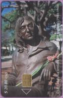 Cuba  °  La  Statue  De  JOHN  LENNON  °  06.2001 - Kuba