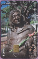 Cuba  °  La  Statue  De  JOHN  LENNON  °  06.2001 - Cuba
