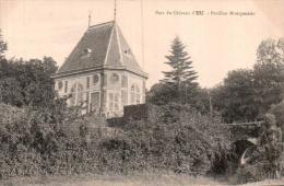76 PARC DU CHATEAU D'EU PAVILLON MONTPENSIER CIRCULEE 1916 - Eu