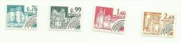 France Préoblitéré N°166 à 169  Neufs Côte 3.95 Euros - 1964-1988