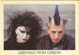 Whiteway Publications Postcard, Greetings From London (Punks) W40 - London