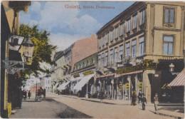 Carte Postale Ancienne,ROUMANIE,ROMANIA ,GALATI  EN 1919,MOLDAVIE,BORD DU DANUBE,PRES BAILA,centre,rue Ancienne - Roumanie