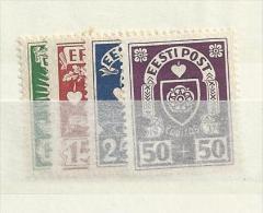 1937 MH Estland, Estonia, Eesti, Ongebruikt - Estonia