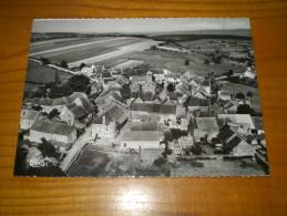 Vue Panoramique Aérinne De Saint Clement Sur Guye En Saone Et Loire ; Cachet Joncy 1961 Sur Mariane Decaris 0.25 - Autres Communes